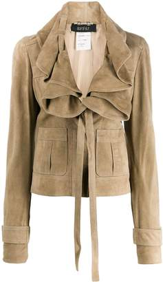 Gucci Pre-Owned 2005's draped fitted jacket