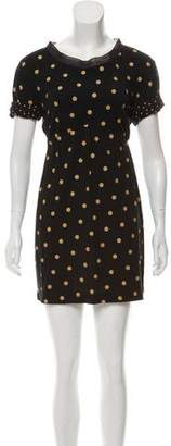 3.1 Phillip Lim Polka Dot Mini Dress