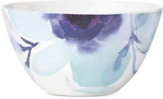 Lenox Indigo Watercolor Floral Porcelain All-Purpose Bowl