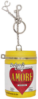 Dolce & Gabbana Multicolor Amore Energy Can Keychain