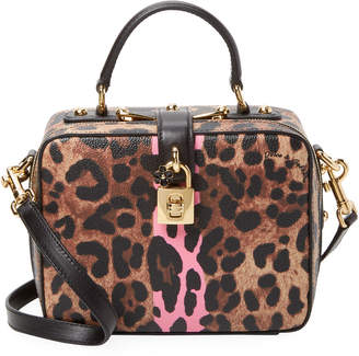 Dolce & Gabbana Small Leopard-Print Crossbody