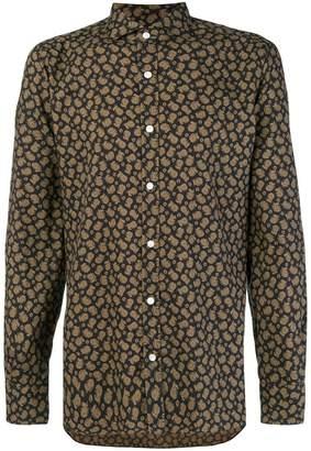 Barba paisley print shirt