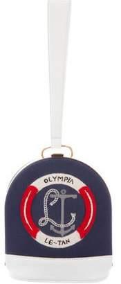 Olympia Le-Tan Sac U Bouee Clutch Bag