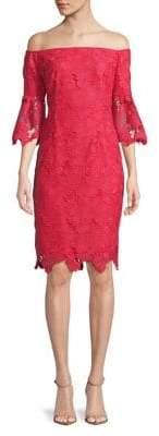 Vince Camuto Off-the-Shoulder Lace Dress