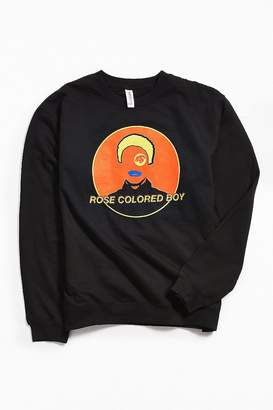 Urban Outfitters Paramore Rose Colored Boy Crew Neck Sweatshirt