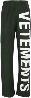 Vetements Logo Track Pants