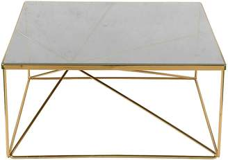 Life Interiors Coffee Tables Lexie Coffee Table, Gold, Small