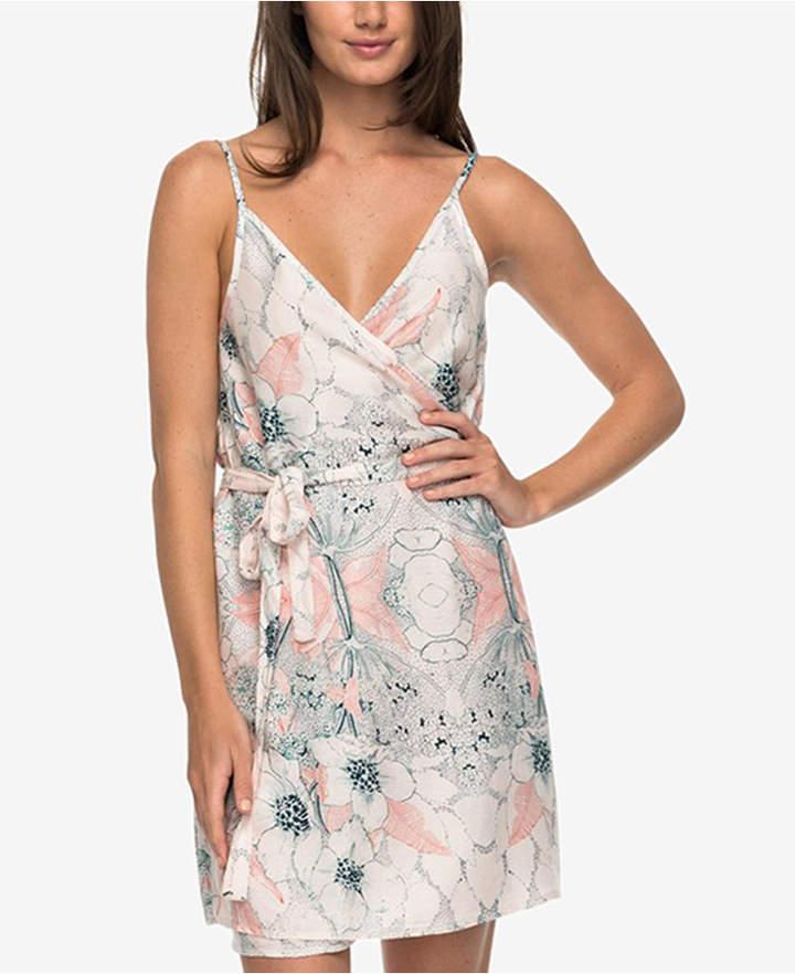 Roxy Printed Wrap Dress