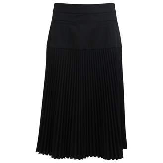 Suno Black Wool Skirt for Women