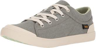 Teva Womens Women's W Freewheel Washed Canvas Sneaker