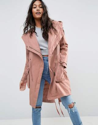 ASOS Waterfall Parka $87 thestylecure.com