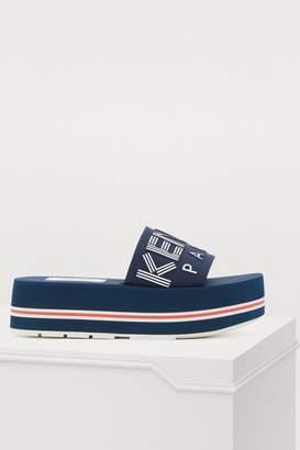 Kenzo Logo sandals