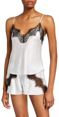 Christine Lingerie Arabella Short Silk Pajama Set