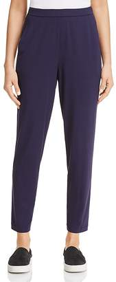 Eileen Fisher Petites System Slim Slouchy Ankle Pants