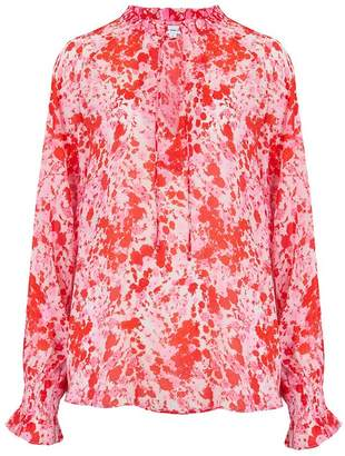 Lily & Lionel Florence Top in Forget Me Not Red and Pink