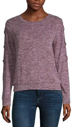 Self Esteem Long Sleeve Sweatshirt-Juniors