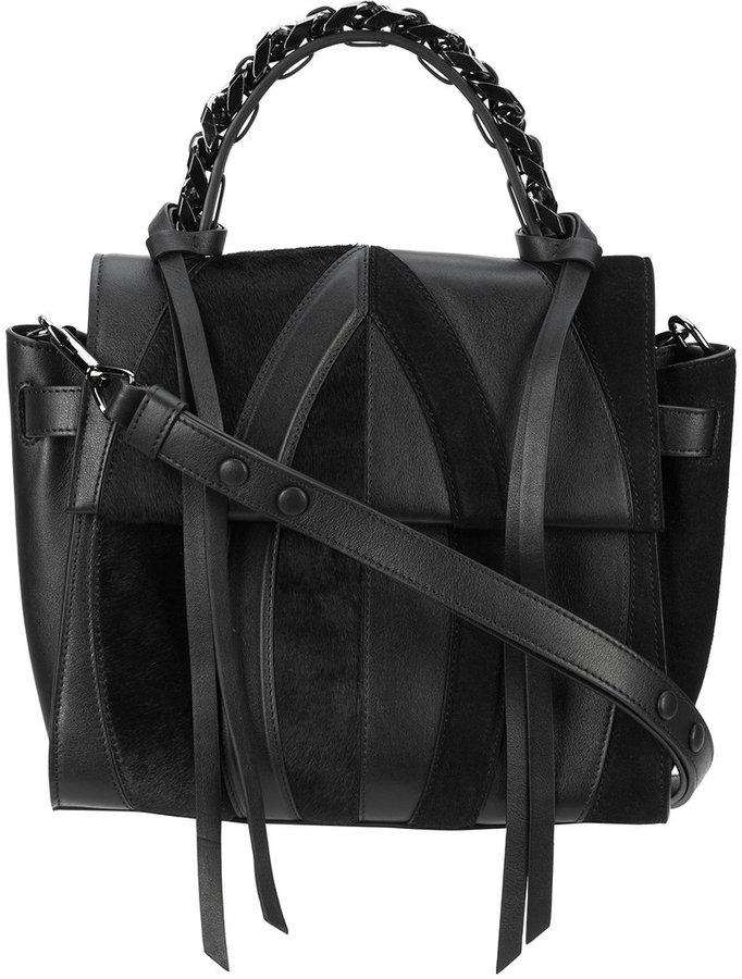 Elena Ghisellini panel design shoulder bag