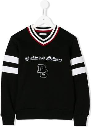 Dolce & Gabbana varsity sweater