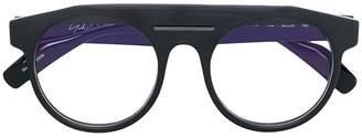 Yohji Yamamoto thick rimmed glasses