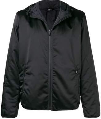 No.21 lightweight zipped jacket