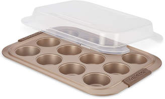 Anolon Advanced 12-Cup Covered Muffin Pan