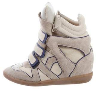 Isabel Marant Beckett Wedge Sandals