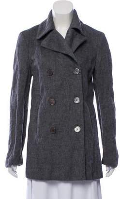 Michael Kors Double-Breasted Wool-Blend Coat