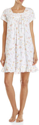 Aria Printed Short Nightgown