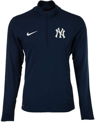 Nike Men's New York Yankees Dry Element Half-Zip Pullover $70 thestylecure.com