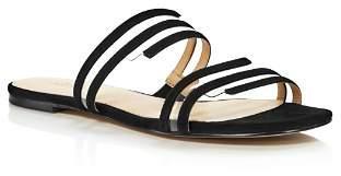 Botkier Women's Maisie Suede Illusion Slide Sandals