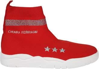 Chiara Ferragni Suite Hi-top Sneakers