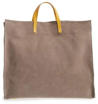 Clare Vivier Simple Suede Tote