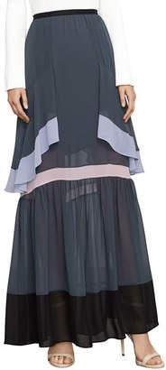 BCBGMAXAZRIA Yuliana Color-Blocked Maxi Skirt
