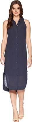 Splendid Women's Shirt Dress with Fray