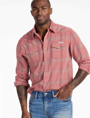 Lucky Brand Long Sleeve San Gabriel Western Shirt