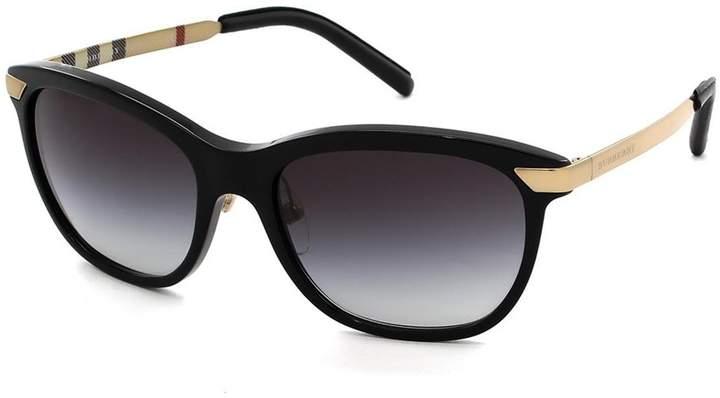 Burberry Women's Gradient BE4169Q-30018G-57 Butterfly Sunglasses