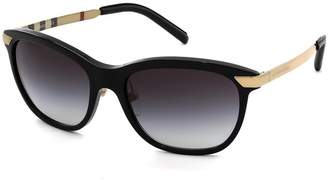 Burberry Women's Gradient BE4169Q-30018G-57 Butterfly Sunglasses