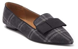 Kensie Mackenzy Plaid Bow Tie Flat