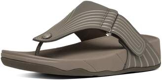 FitFlop TRAKK II TM Leather Flip Flops