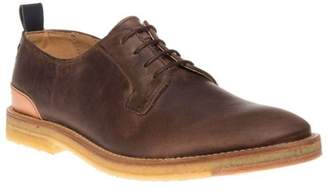 Sole New Mens Brown Daplyn Leather Shoes Lace Up