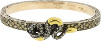 Sevan Biçakci Fancy Diamond Snake Bangle