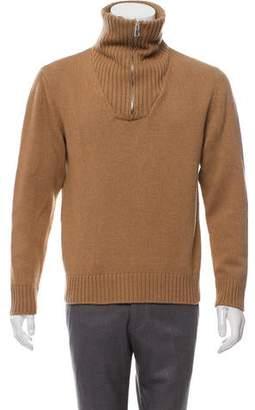 Loewe Camelhair Turtleneck Sweater