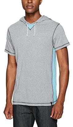 Burnside Men's Trainer Short Sleeve Knit Hoodie