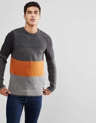 Blend of America Block Stripe Sweater