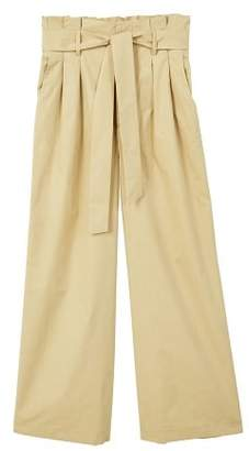 MANGO Paper bag trousers