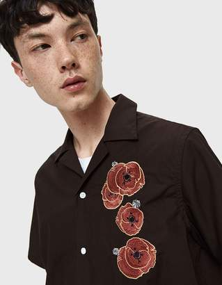 Saturdays NYC Canty Opium S/S Shirt in Carbon