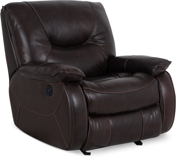Dante Leather Power Recliner