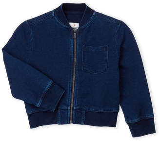 AG Adriano Goldschmied Toddler Boys) Denim One-Pocket Bomber Jacket