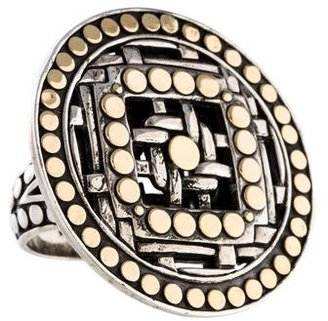 John Hardy Two Tone Ring $395 thestylecure.com