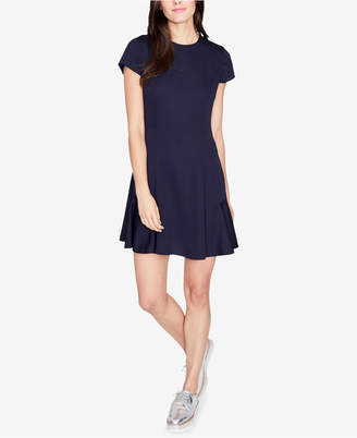 Rachel Roy Lace-Up Fit & Flare Dress, Created for Macy's